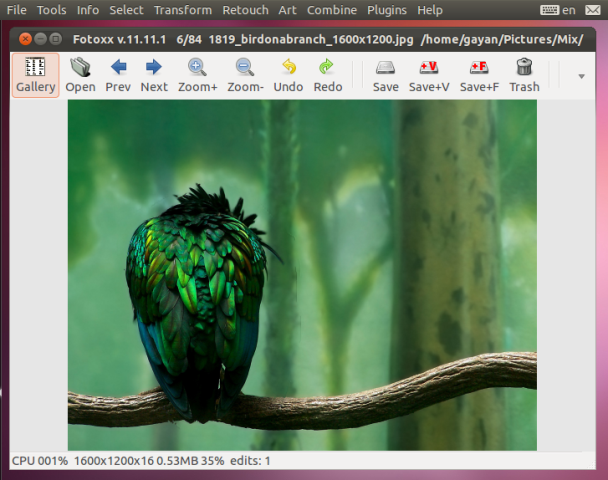 A Powerful Photo Editor Enhancer For Ubuntu Linux Fotoxx