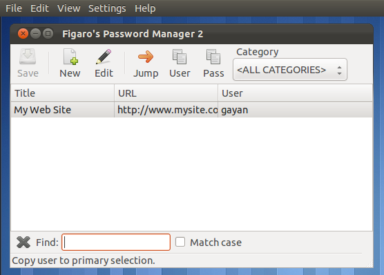 Password Keeper for Android & Ubuntu Linux - FPM2