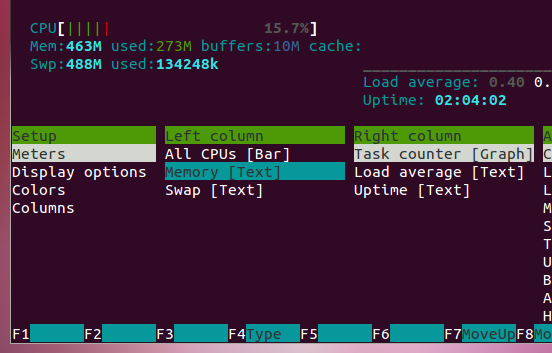 Lightweight & Powerful Terminal Based System Monitor for