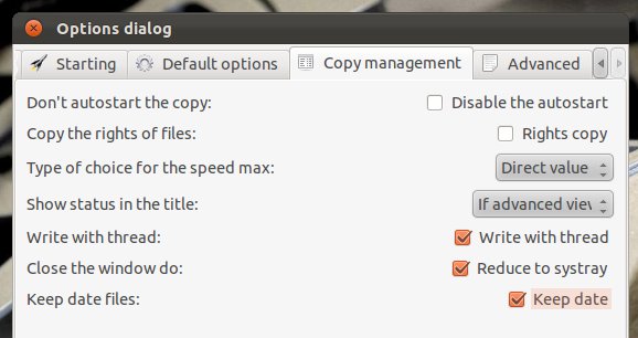 Powerful File Copy & Move Utility for Ubuntu Linux - UltraCopier