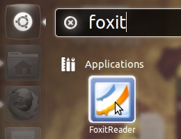 Foxit-icon-showing-in-Unity-Dash