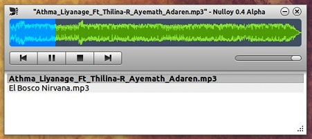 Nulloy-music-player-running-in-Ubuntu-11.10