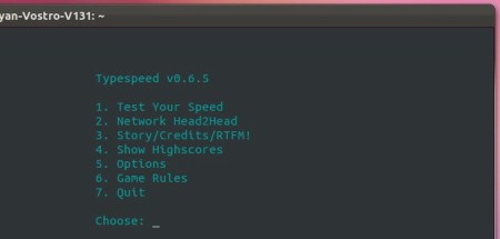 8709ce02060 Typespeed: Typing Speed Testing Game for Ubuntu Linux