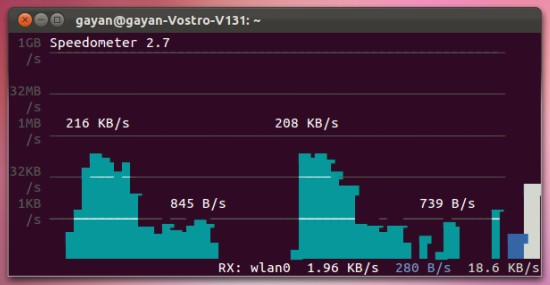 speedometer-monitoring-the-network-in-Ubuntu