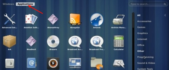 Applications-overview-in-Gnome-3