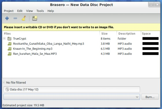 Creating-a-data-disc-project-Brasero