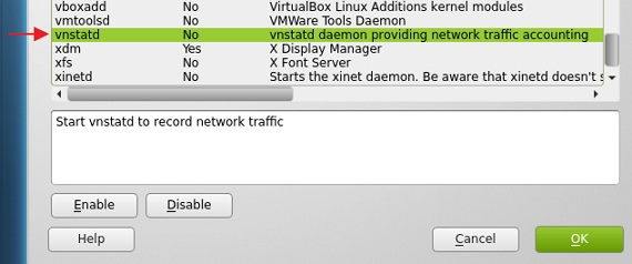 Use 'vnstat' in openSUSE (12 2) to monitor network bandwidth usage