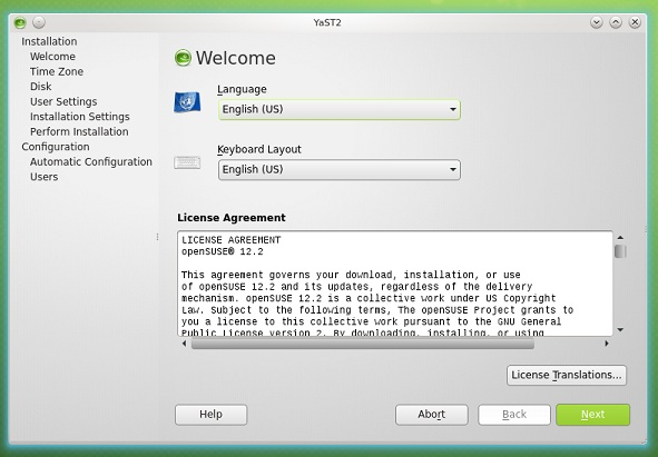 openSUSE-12.2-installers-YaStT-welcome-note