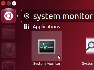 Opening-system-monitor-from-Dash-in-Ubuntu