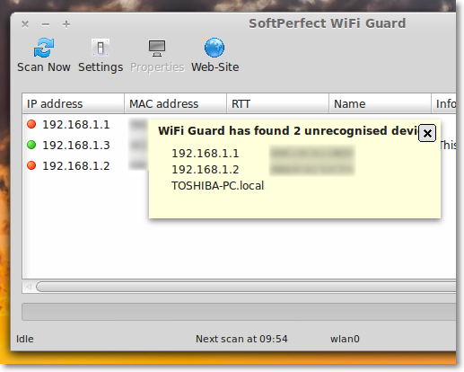 Scan your Wi-Fi Network for Intruders using 'WiFi Guard'