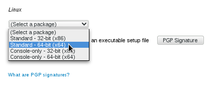 Downloading-the-proper-TrueCrypt-package-Fedora-18