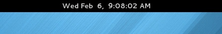 Gnome Shell's clock showing seconds - Fedora 18