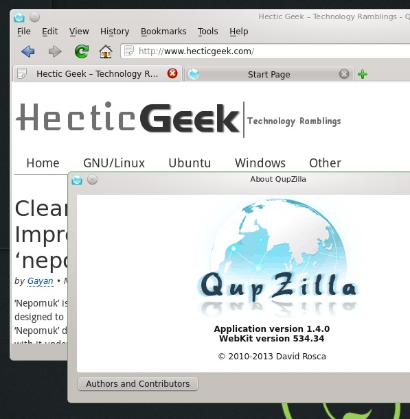QupZilla-running-on-openSUSE-12.3-KDE