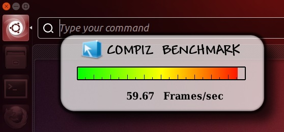 Idle 'FPS' of 'Compiz' while 'HUD' is opened - Ubuntu 13.04