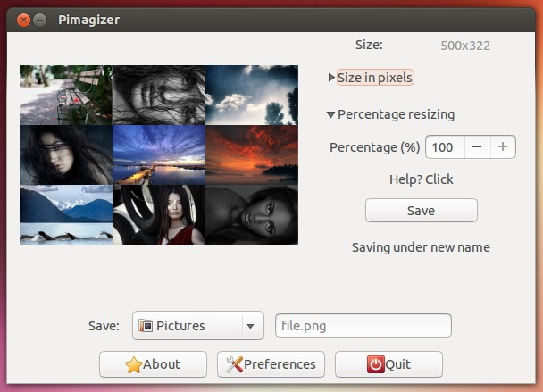 'Pimagizer' Running on Ubuntu 13.04