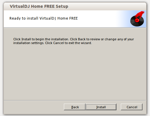 'Virtual DJ' 7.4.1 ready to install on Ubuntu 13.10