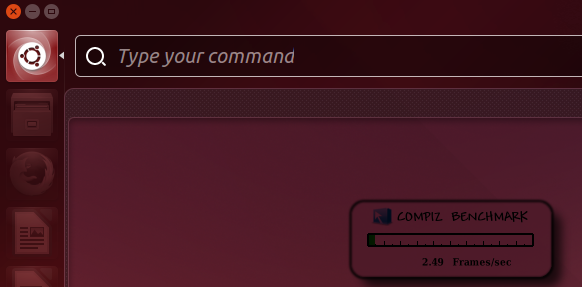 'Compiz' frame rate on an idle 'HUD' - Ubuntu 14.04 LTS