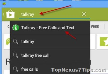 Search for talkray on PC