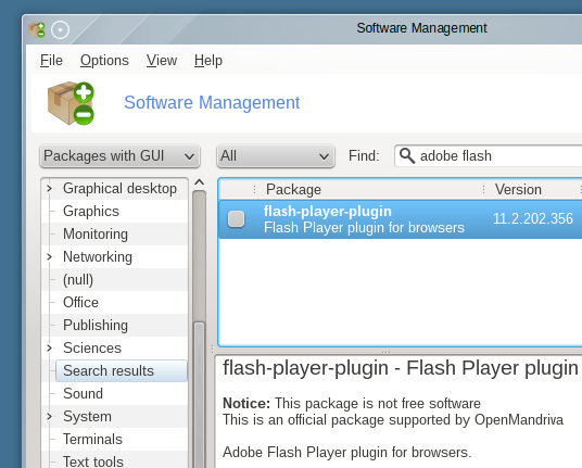 Rpmdrake-software-manager-OpenMandriva-2014.0-Lx