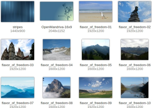 Some-of-the-included-wallpapers-in-OpenMandriva-Lx-2014