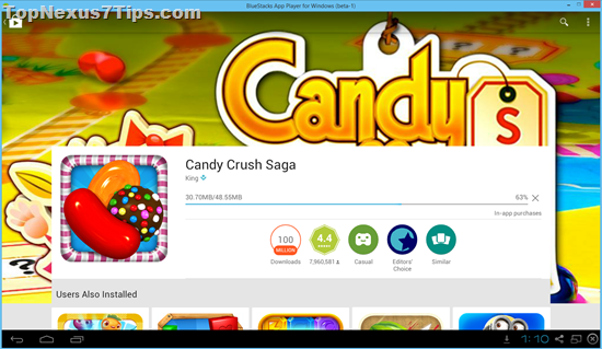 candy crush saga game for pc without bluestacks