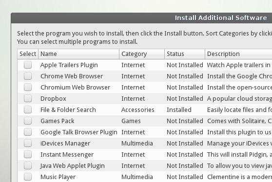 'Additional Software Installer' of Linux Lite 2.2