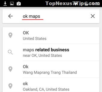 select the area of google maps