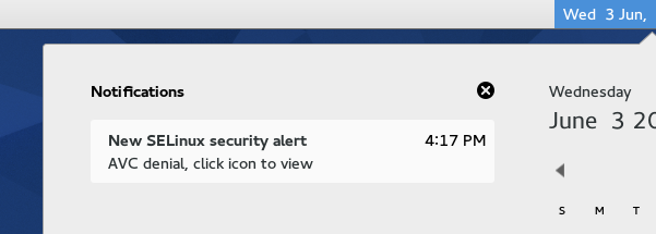 Reading missed notifications in Gnome 3.16.2 (Fedora 22)