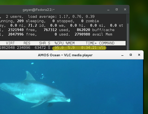 Enable 'post-processing' & Hardware Acceleration in VLC for Intel HD