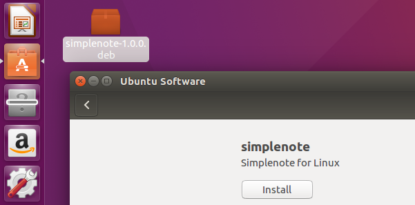 GNOME Software Center failing to install deb file in Ubuntu 16.04 LTS