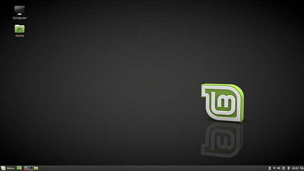 Linux Mint 18 Cinnamon Desktop