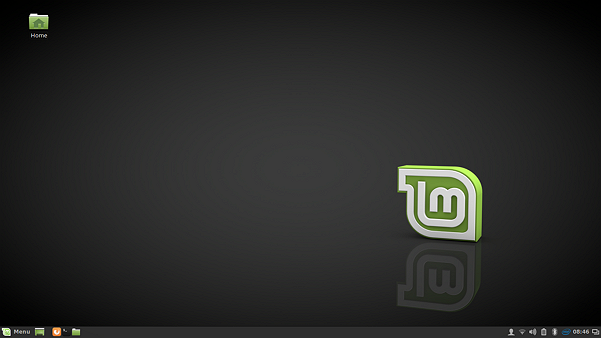 Linux Mint 18 Cinnamon desktop with the Mint-Y theme