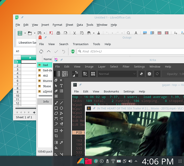 Manjaro 17 0 2 KDE Review: Looks Gorgeous, Responsive