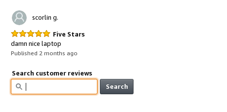 Searching-in-user-reviews-for-linux-based-keywords-on-Amazon